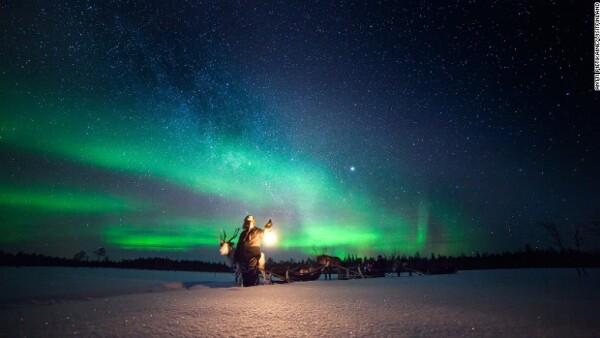 En busca de auroras