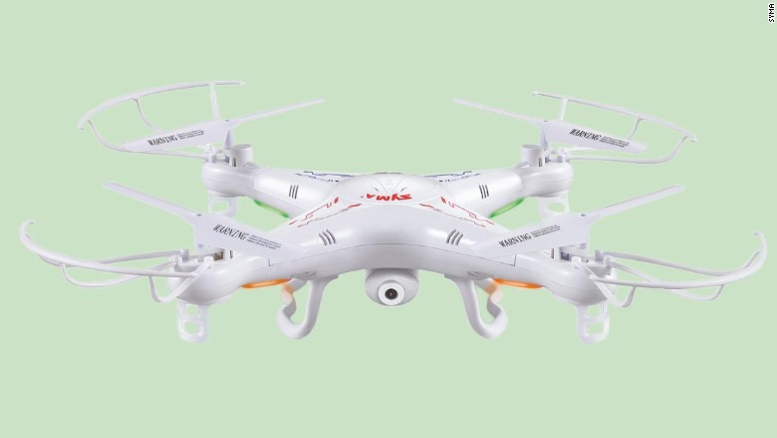 Prueba la fotografía aérea con Syma X5C