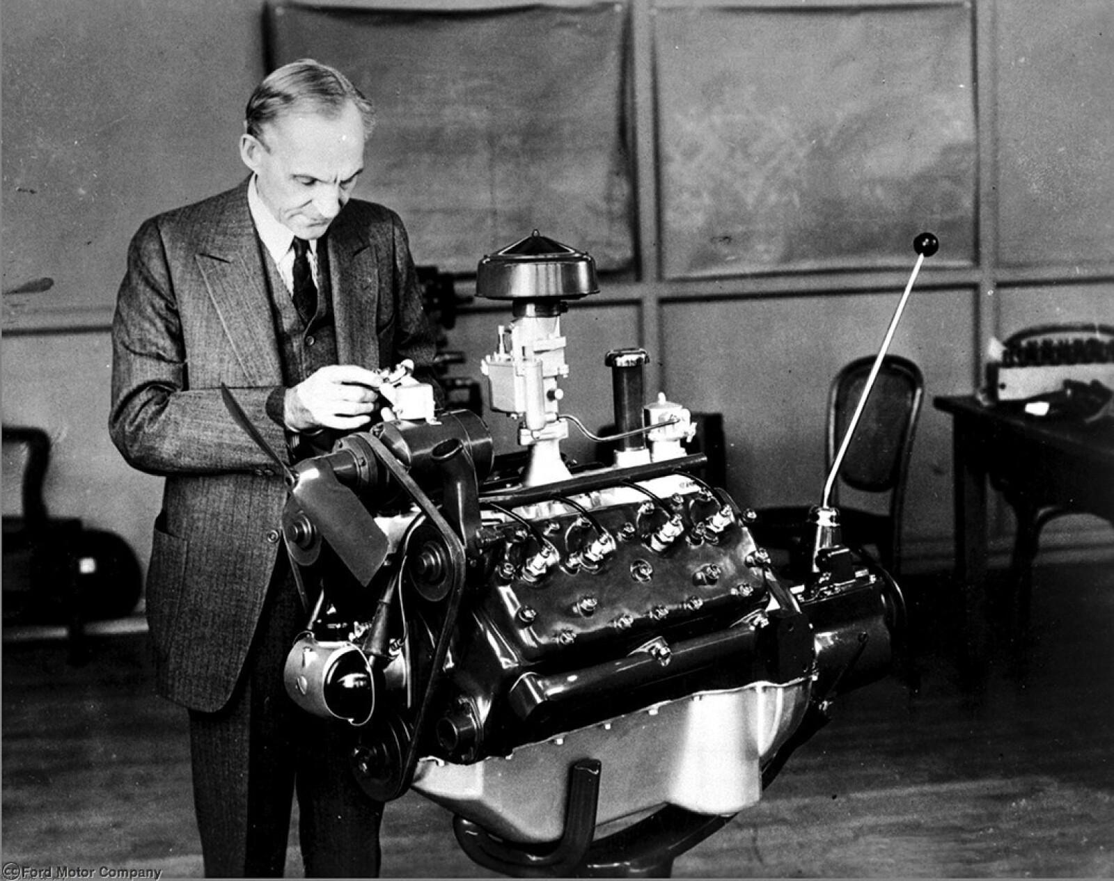 A new V-8 engine