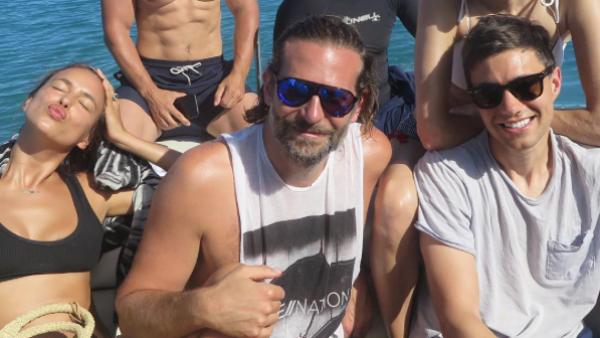 Bradley Cooper e Irina Shayk en sus vacaciones en Tahití