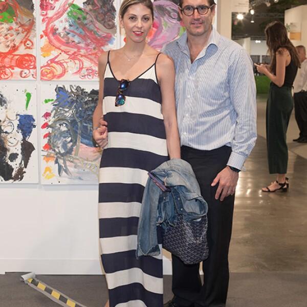 Andrea Ordorica y Samuel Rivas