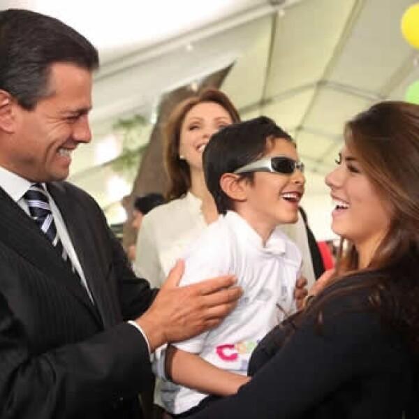 Familia presidencial Día del Niño