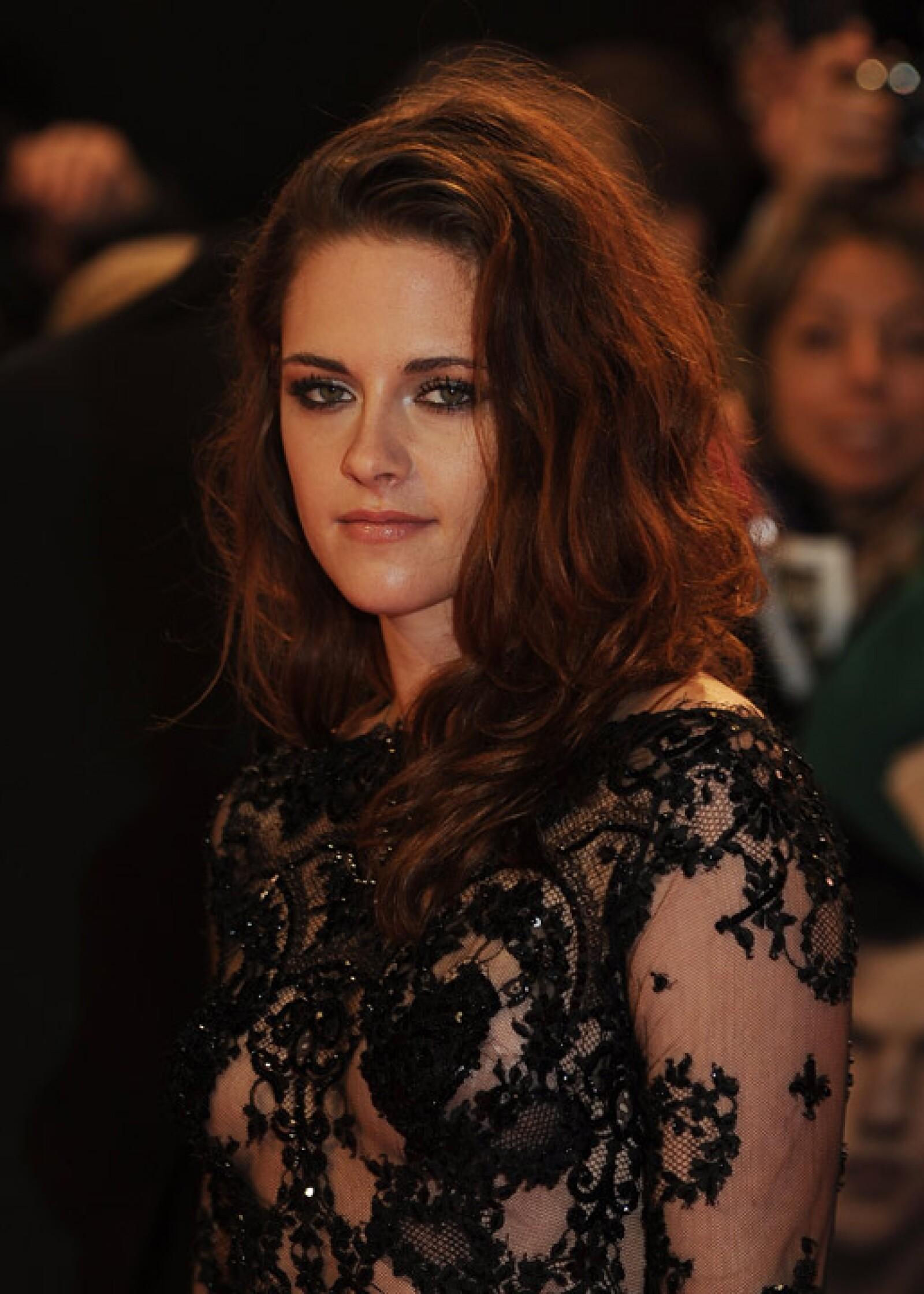 Kristen, de 22 años, ya está olvidando sus Converse, ahora luce más glamorosa.