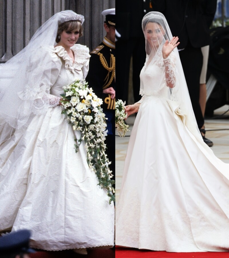 e3aeeb215 Diana y Kate  la inevitable comparación