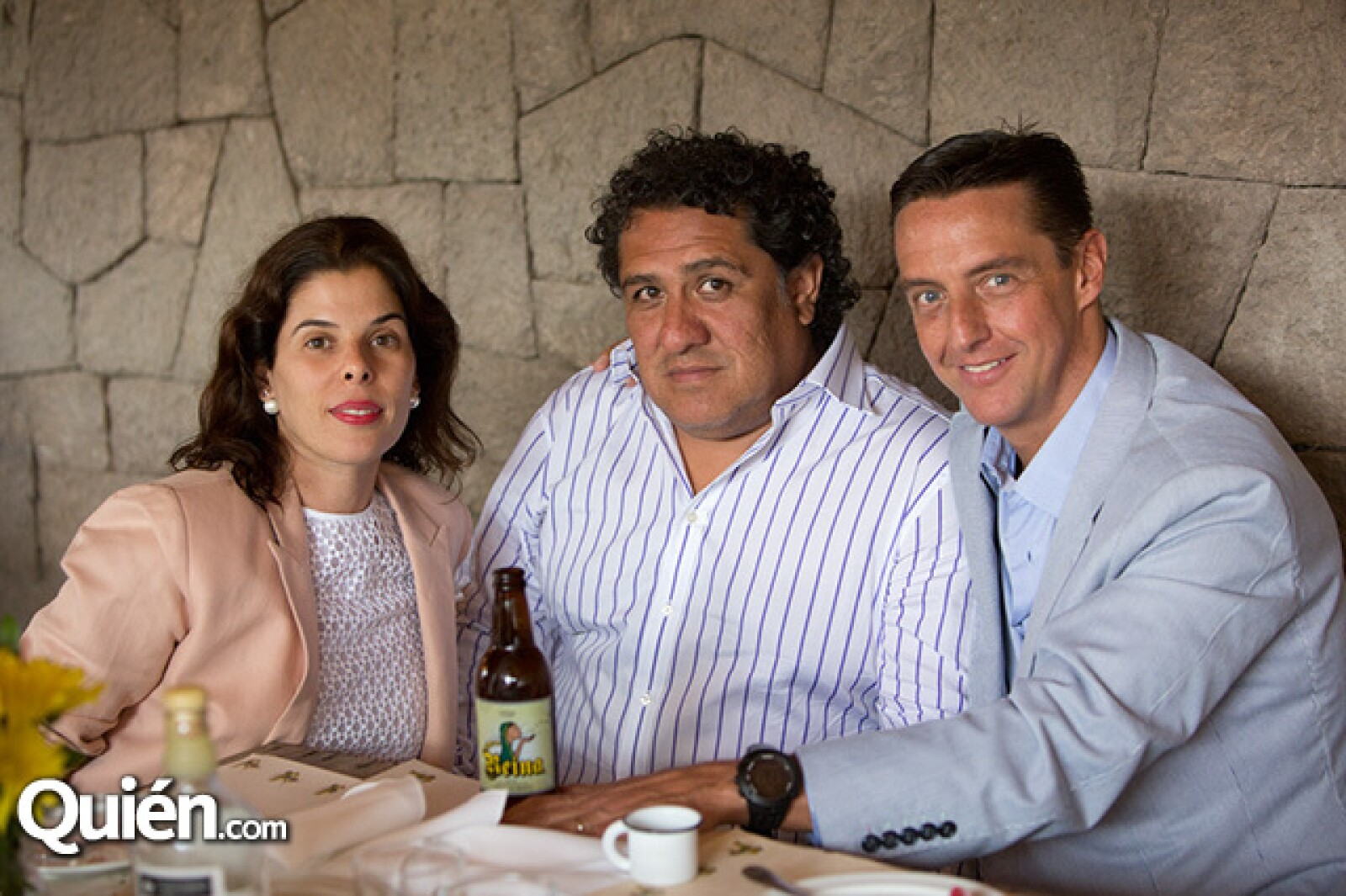 Esther Ramírez, Luis Lozada y Juan Witt