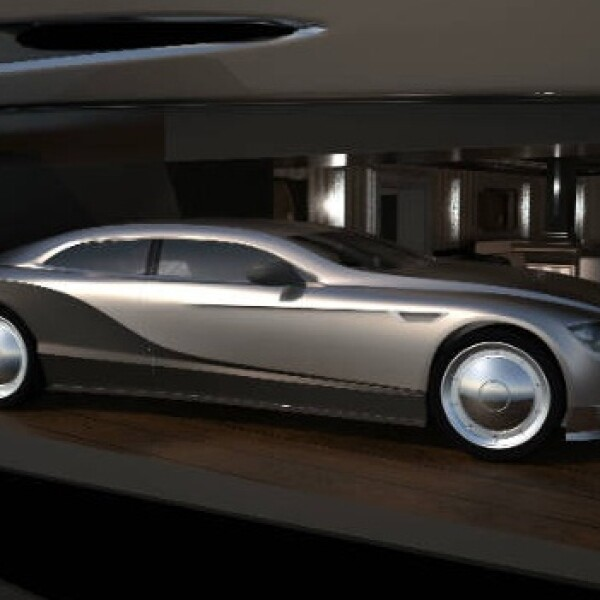 El superyate Sovereign puede almacenar vehículos