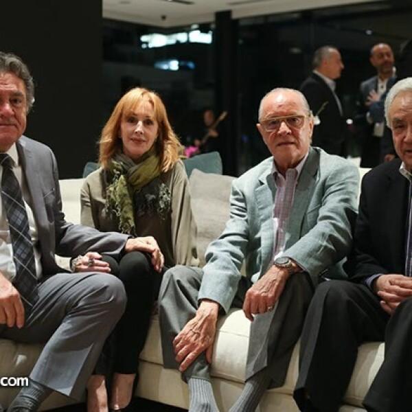 Ramon García,Araceli Candela,Agustín Hegewisch y Salvador Lara