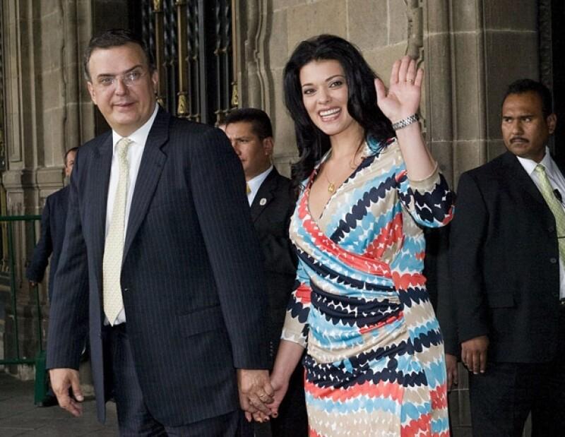 Este 12 de diciembre el ex Jefe de Gobierno capitalino y su esposa recibieron la llegada de una niña y un niño, quienes llevarán los nombres de Ivanna y Julián.