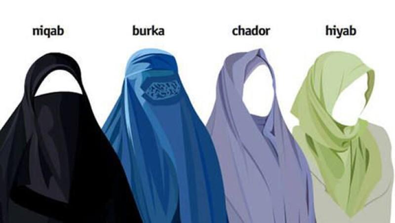 Estos son algunos de los ejemplos de la vestimenta típica de los países en Medio Oriente.