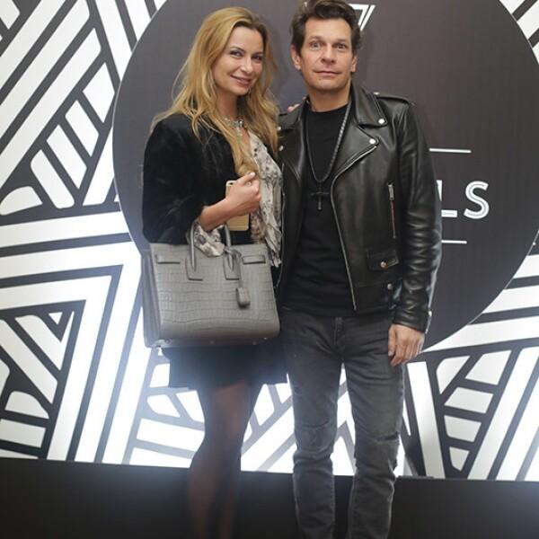 Catalina Buchanan y Mauricio Balcarcel