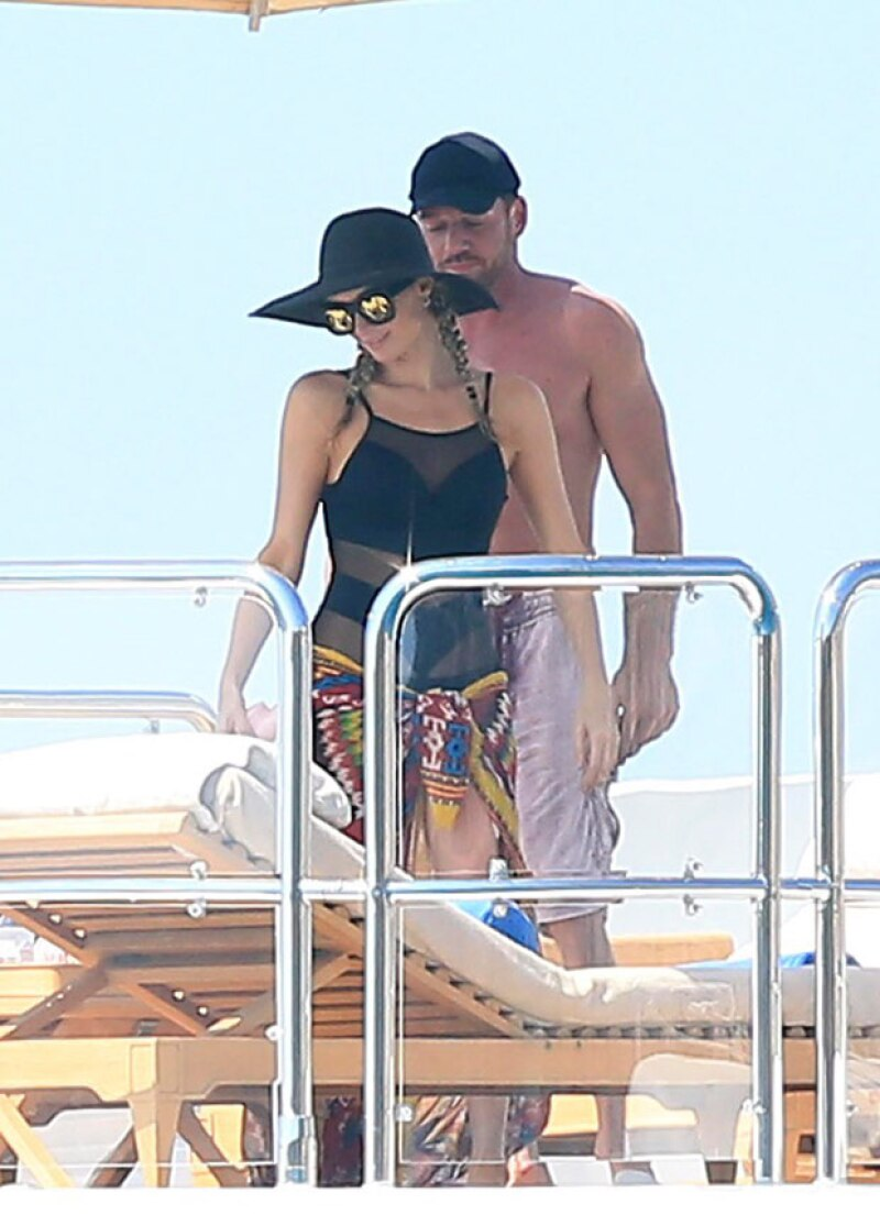 La pareja se conoció en Cannes, donde también salió un tiempo con el empresario Joe Fournier.