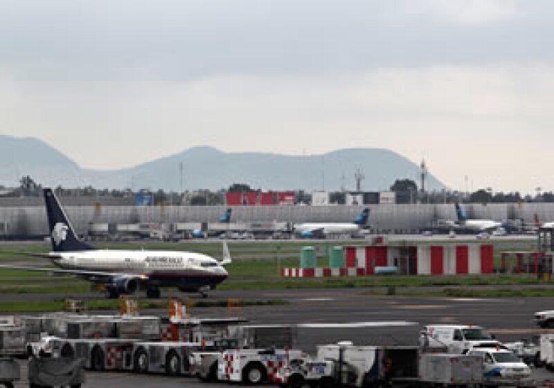 En el primer semestre del año pasado, el aeropuerto movilizó 146,000 toneladas. (Foto: Notimex)