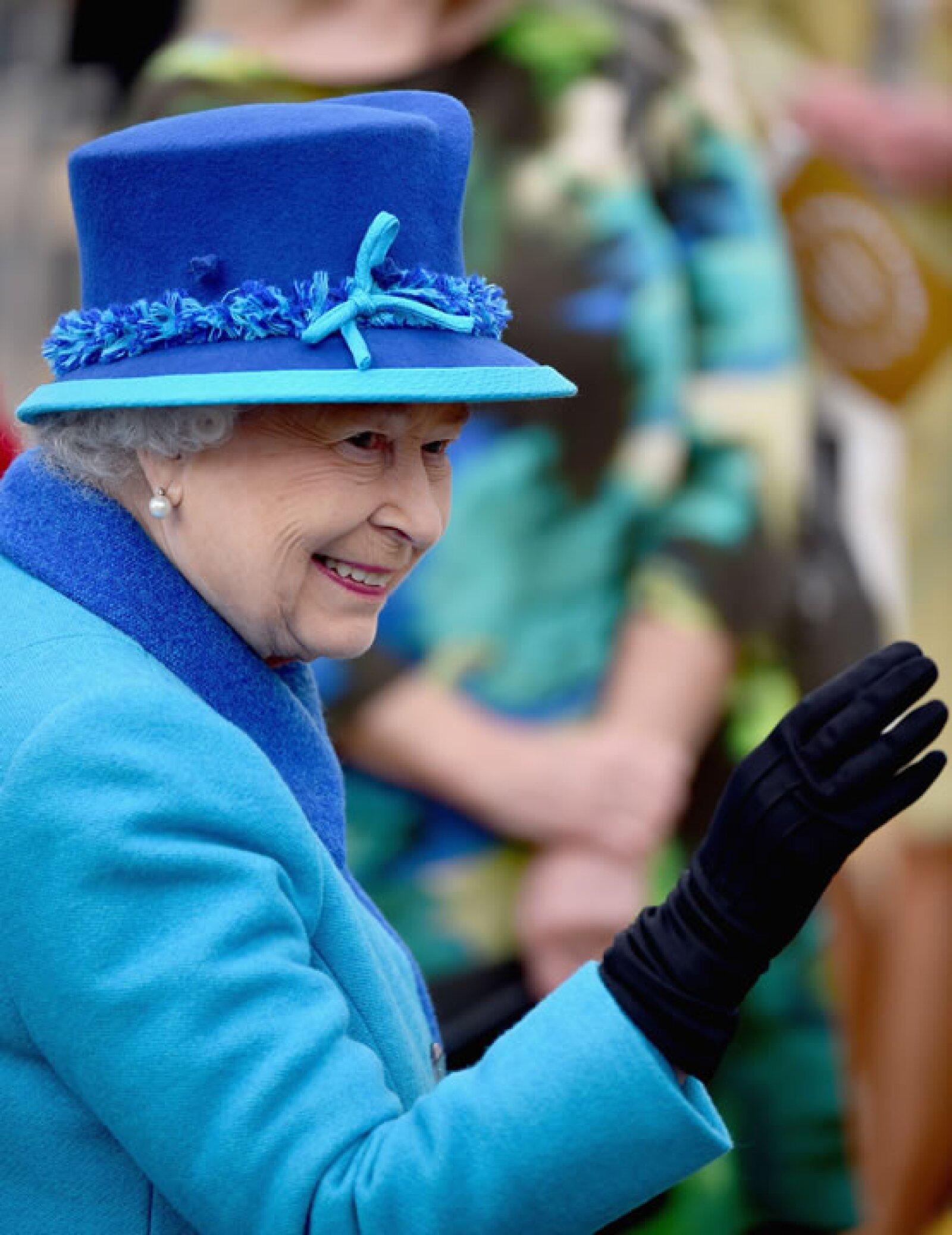 Por decisión propia, la reina no quiso tener una gran celebración.