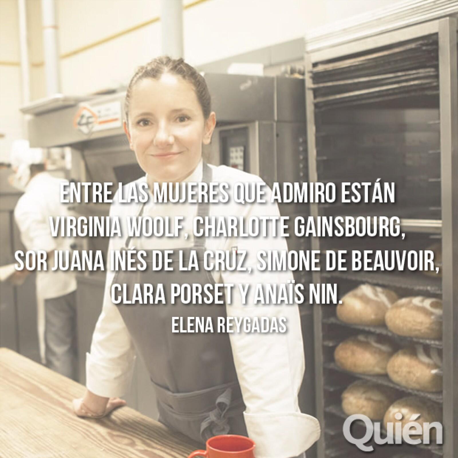 Elena Reygadas, chef y fundadora de Rosetta. Ganó el premio Veuve Clicquot a la Chef Femenina de 2014.