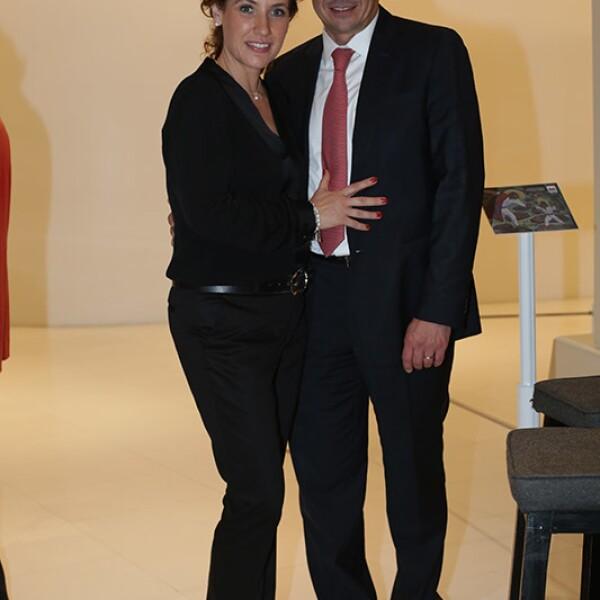 Ana Paula y Antonio Cázeres