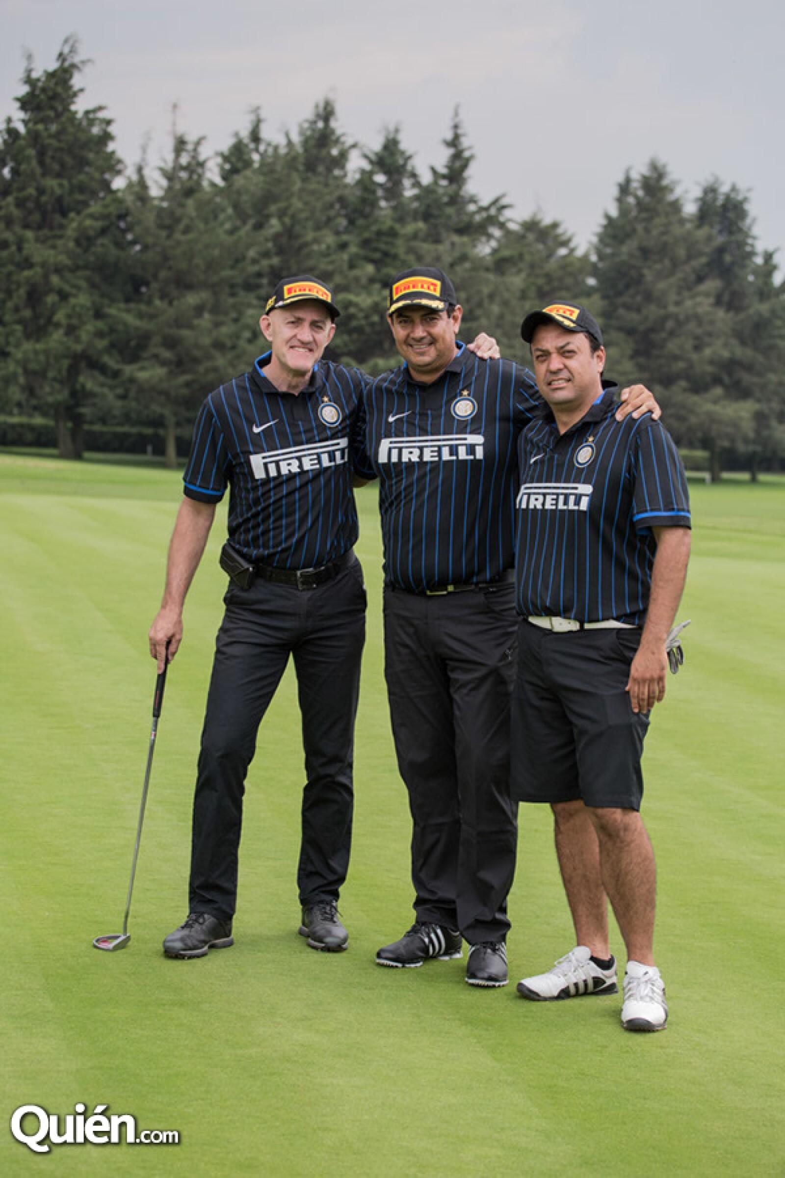 Tomás Grávalos, Ricardo Tejada y Felipe Renteria