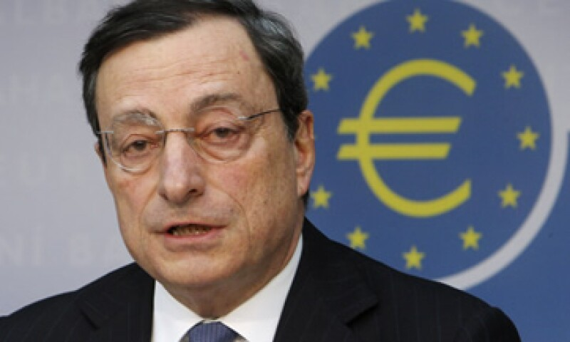 Mario Draghi dijo que el Banco Central Europeo haría todo lo posible para lidiar con la crisis. (Foto: Reuters)