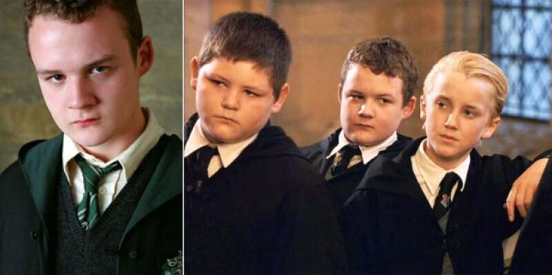 El actor que interpretaba a uno de los amigos de Draco Malfoy en Harry Potter, ahora es un luchador profesional.