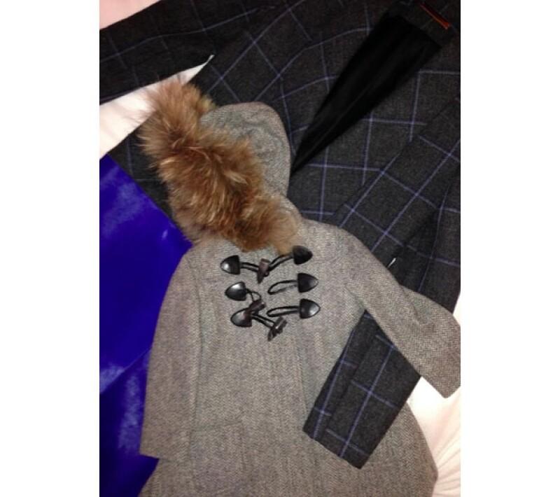 La esposa de David Beckham compartió esta imagen de su outfit y el de su pequeña para viajar a NY.