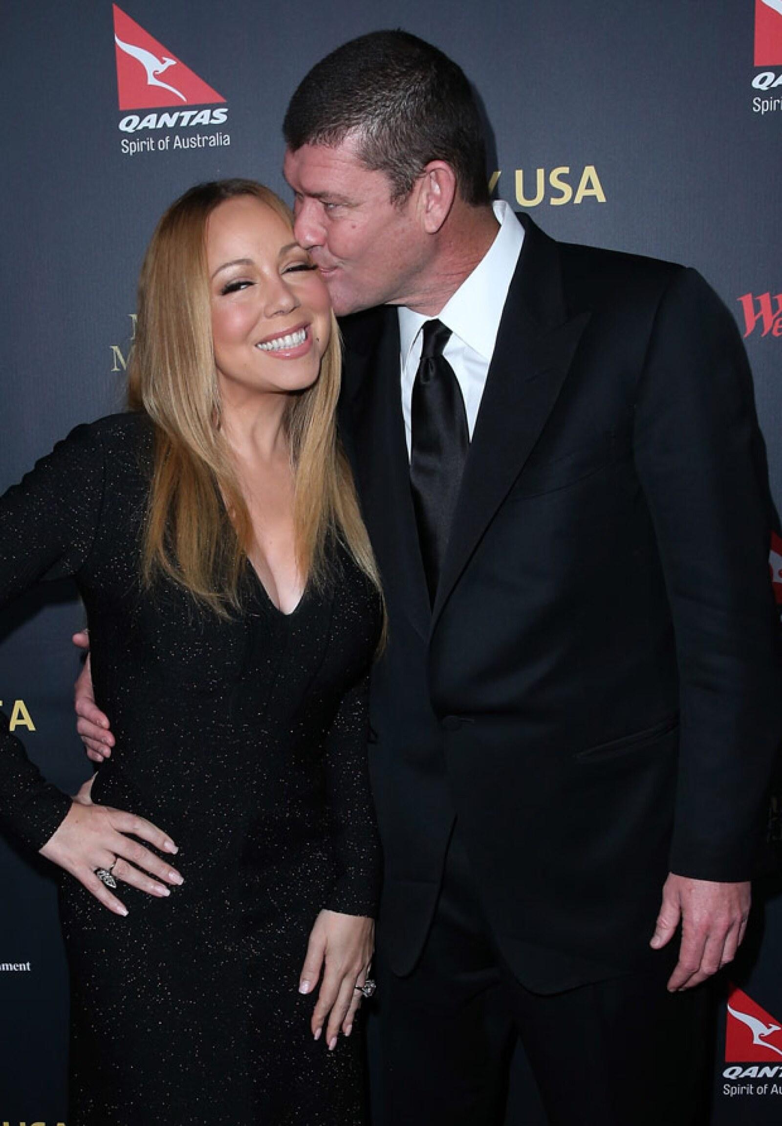 Mariah está comprometida con el billonario australiano James Packer.