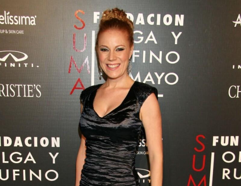 """Dani Magún es una madre orgullosa de que sus hijos sean admiradores de """"El Chavo""""."""