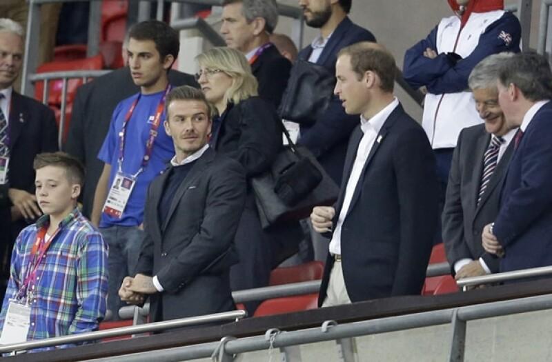 Durante le partido ambos estuvieron intercambiando comentarios del juego.