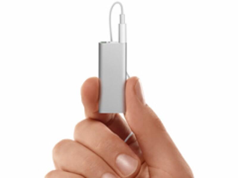 El nuevo shuffle es de la mitad del tamaño que su predecesor. (Foto: Cortesía)