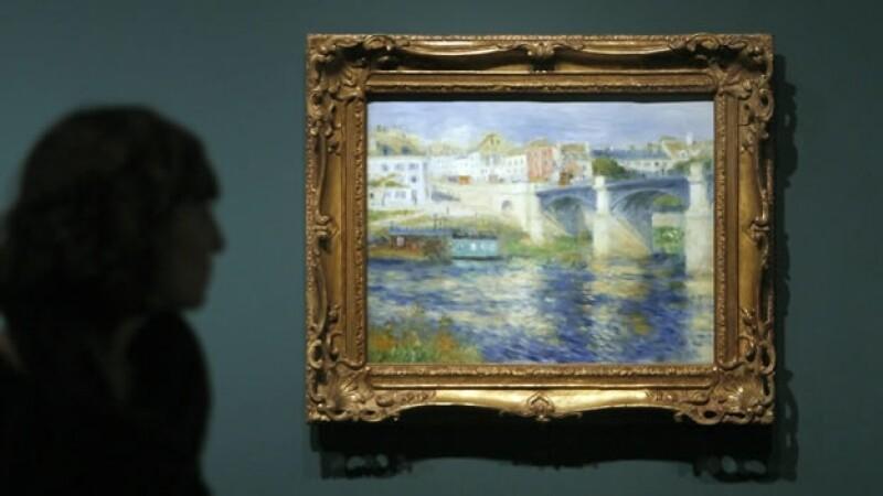 Una obra de Renoir es exhibida