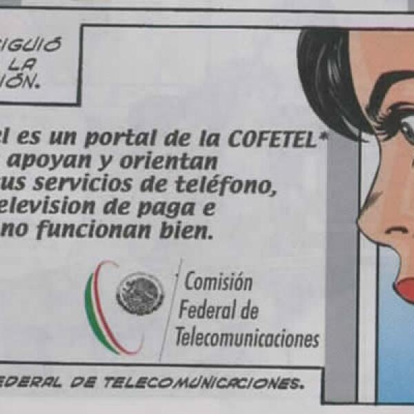 La comisión promociona su portal donde se reciben quejas sobre los servicios como Internet, telefonía móvil, fija y televisión de paga.