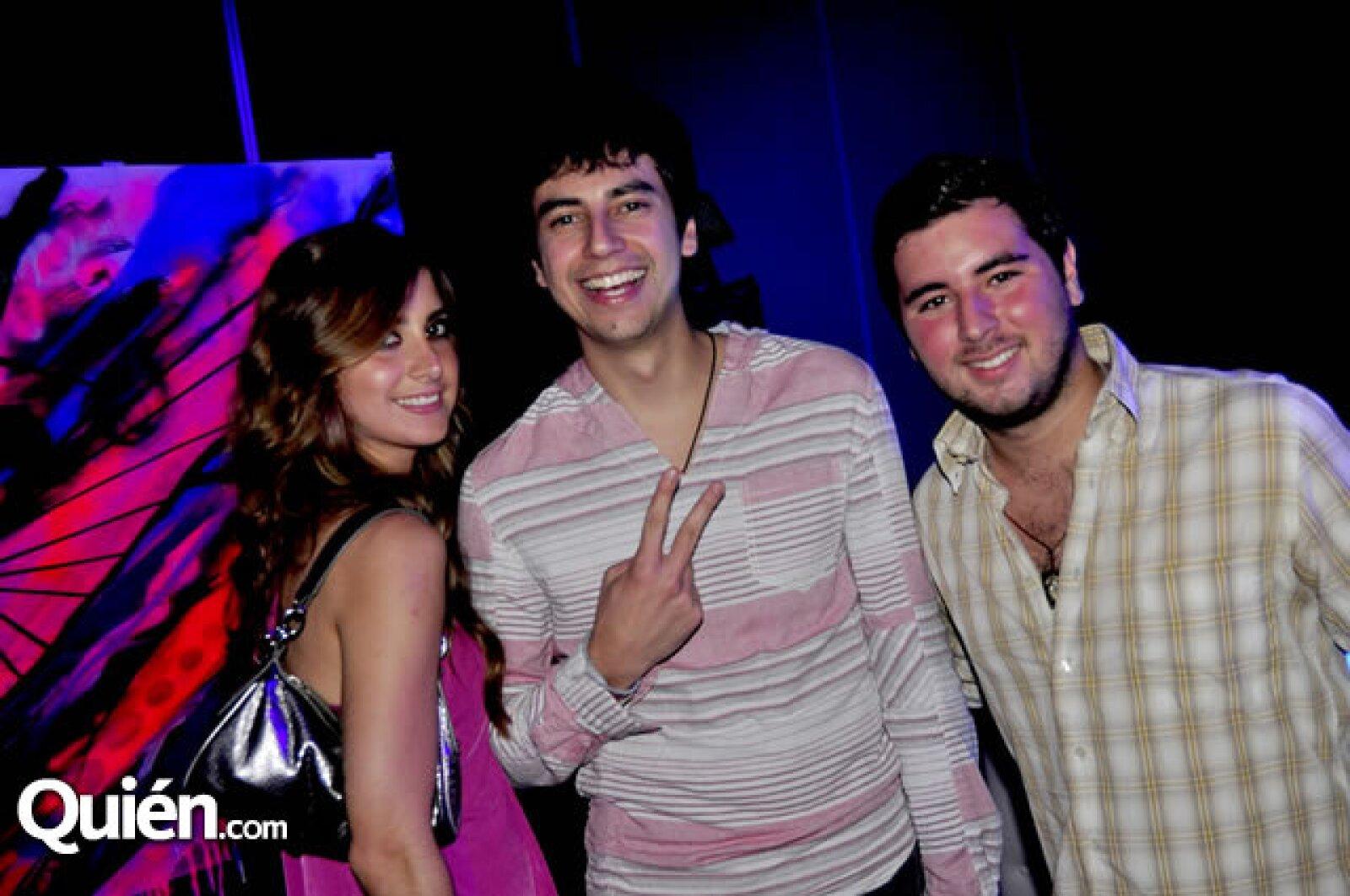 Norma Alanis, Broz Rodríguez y Manuel Medina