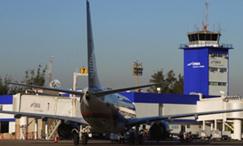 El aeropuerto mazatleco transporta a más de 730,000 pasajeros al año. (Foto: Tomada de oma.aero)