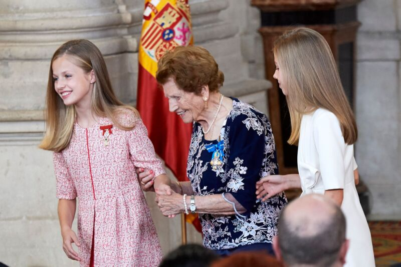 Spanish Royals Deliver 'Order of the Civil Merit' Awards