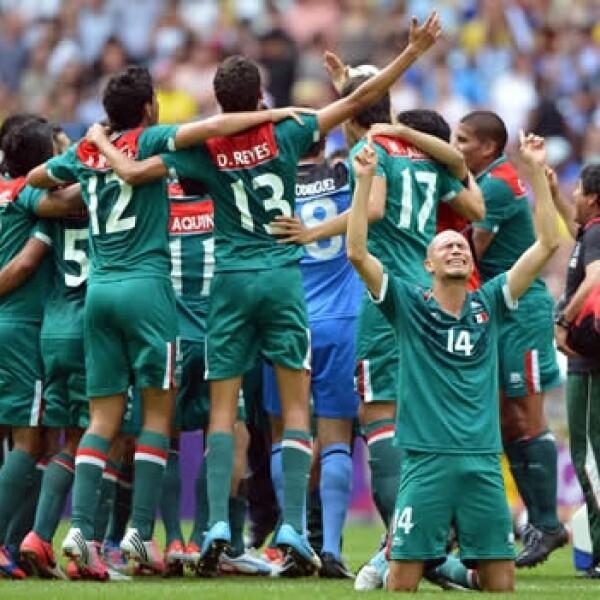 México oro Londres 2012