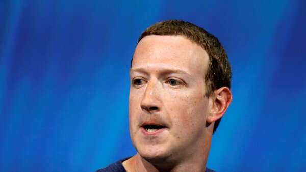 FILE PHOTO: Facebook's Zuckerberg speaks at Viva Tech start-up and technology summit in Paris