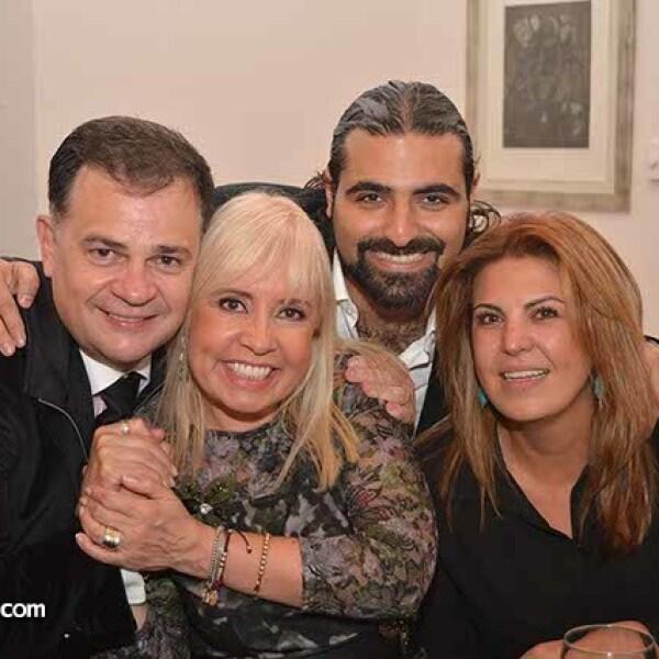 Ulrich Richter,Carla Estrada,Sergio Gabriel y Patricia Marbez.