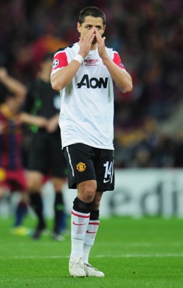 El jugador mexicano no pudo evitar las lágrimas ante la derrota de su equipo.
