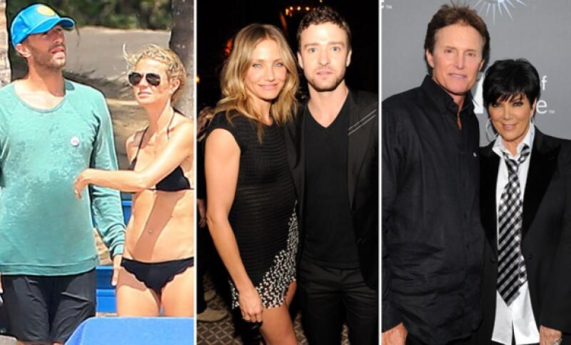 Tras los múltiples comentarios por la escapada de Chris y Gwyneth a la playa, hacemos un recuento sobre las ex parejas que continúan su amistad a pesar de haber cortado.