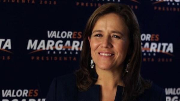 """""""Reconozco que no hay posibilidad de ganar"""", admite Margarita Zavala"""