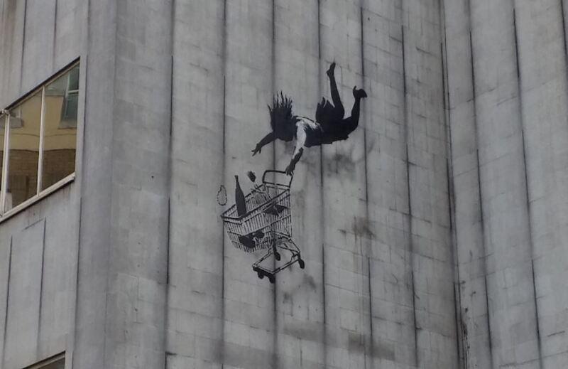 Falling Shopper