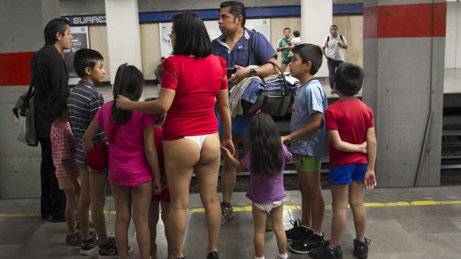 La inhibición no forma parte de las características de esta familia en la estación Pino Suárez