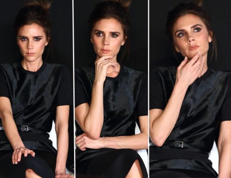 La personalidad de Victoria Beckham es tan atractiva como enigmática. Ahora robó cámaras en su papel de juez en la entrega del premio Woolmark.