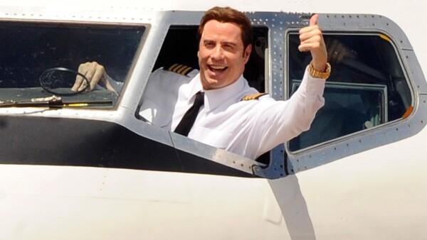 John Travolta, avión