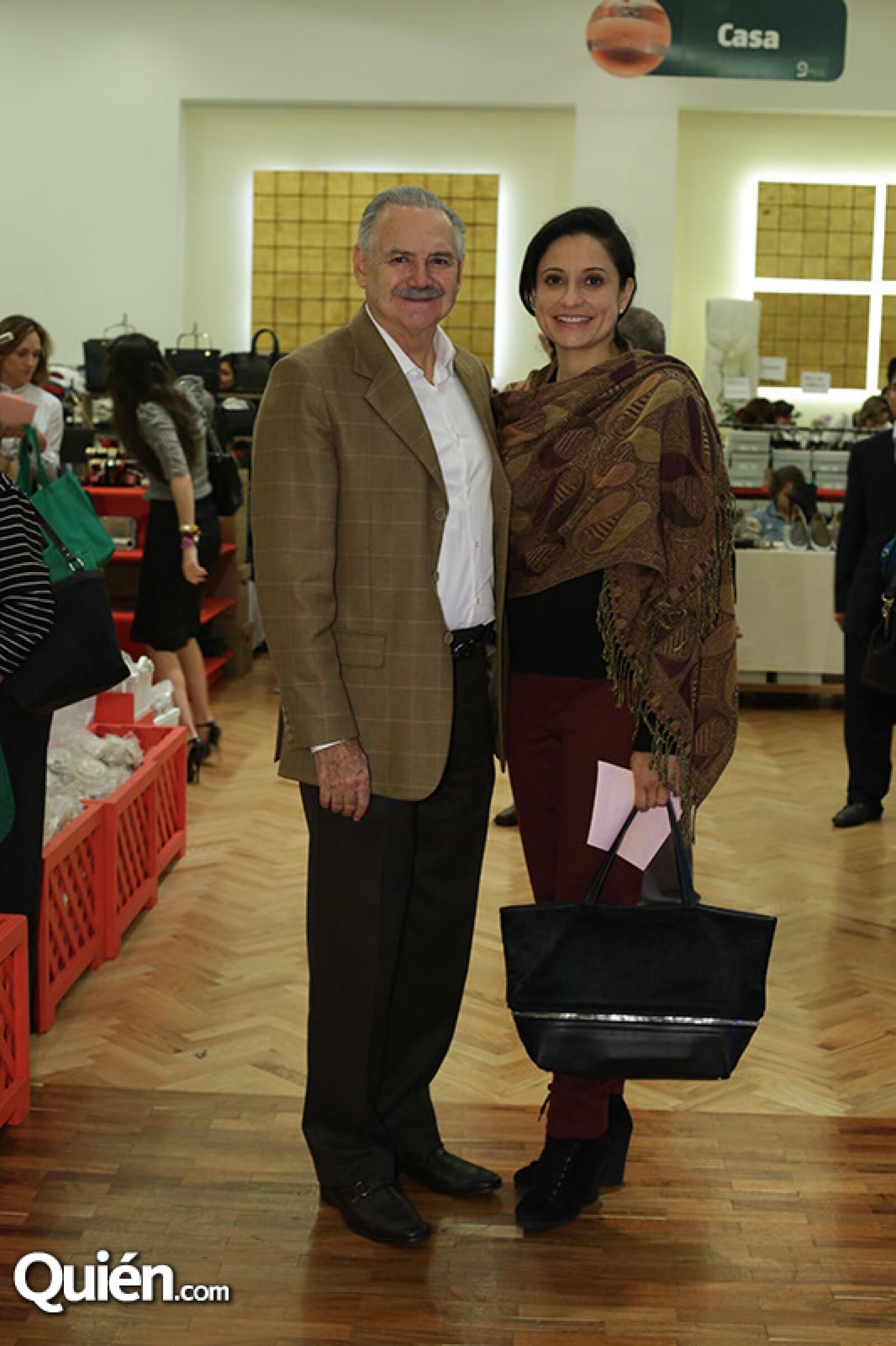 Raúl Salinas de Gortari y Ana Cecilia Martínez