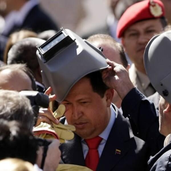 Chávez en Argentina