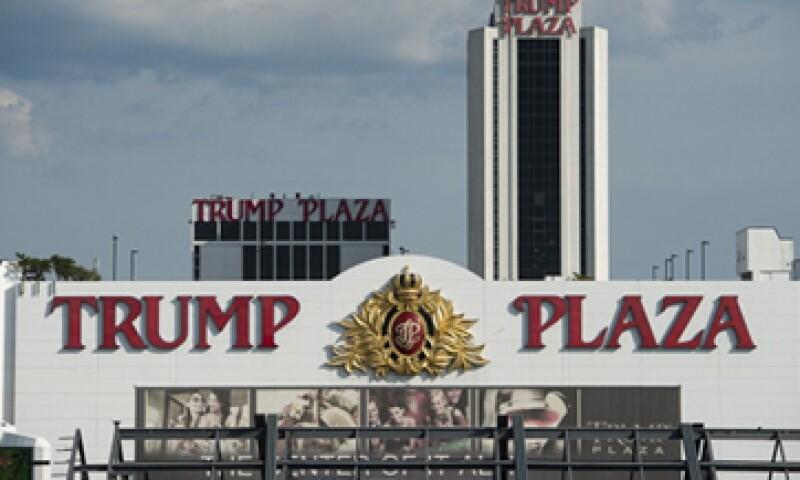Los casinos Trump Plaza y Trump Taj Mahal usan el nombre del magnate bajo licencia, pero no son de su propiedad. (Foto: Getty Images)