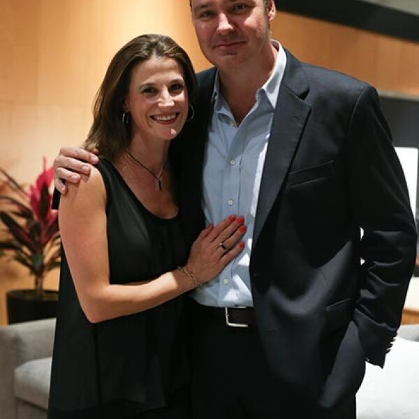 Odette Destier y Víctor Rodríguez