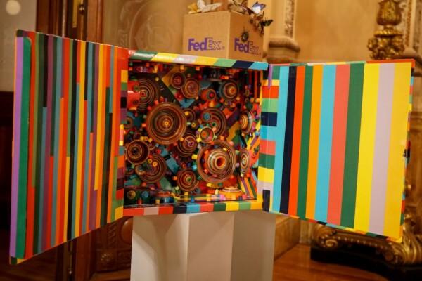 Caja de arte contemporáneo