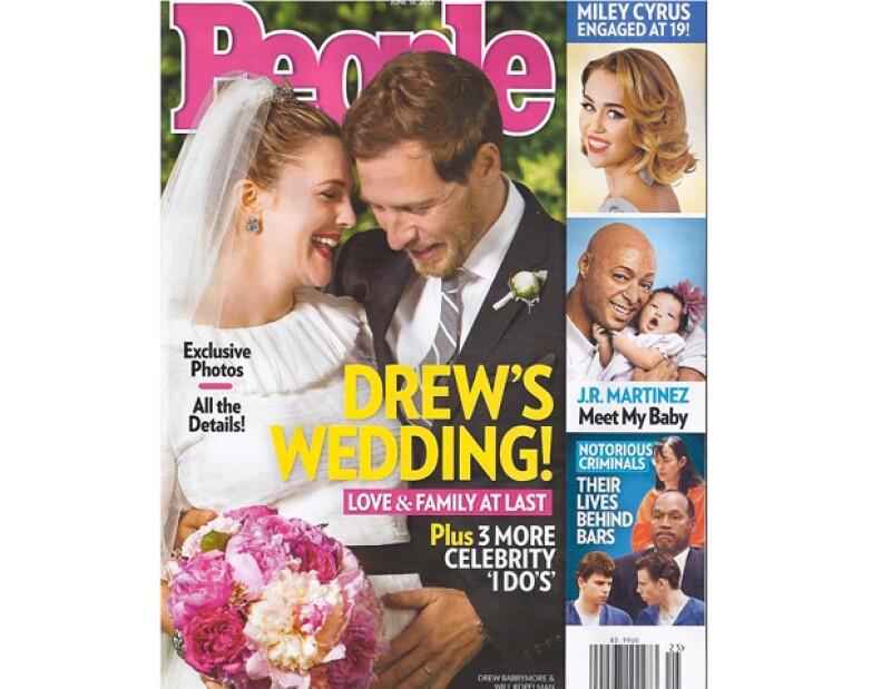 La actriz junto con su esposo Will Kopelman, son los protagonistas de la portada de la revista People de esta semana, donde platicaron todos los detalles de su boda.