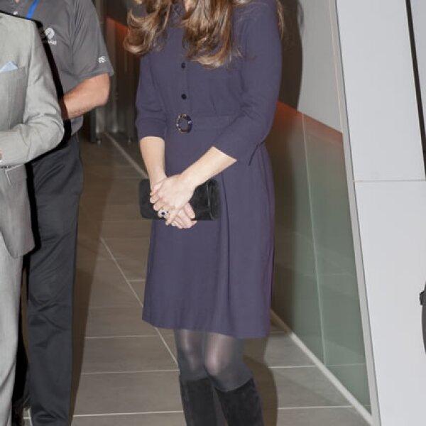 Kate Middleton un 12 de noviembre en la SportsAid Athelete Workshop