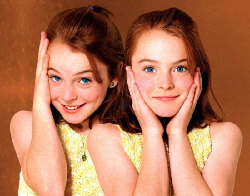 Ambas interpretaron a Annie James y Hallie Parker en la cinta de Disney de 1998.